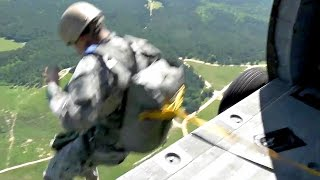 US Army Special Forces Airborne Operation Jump