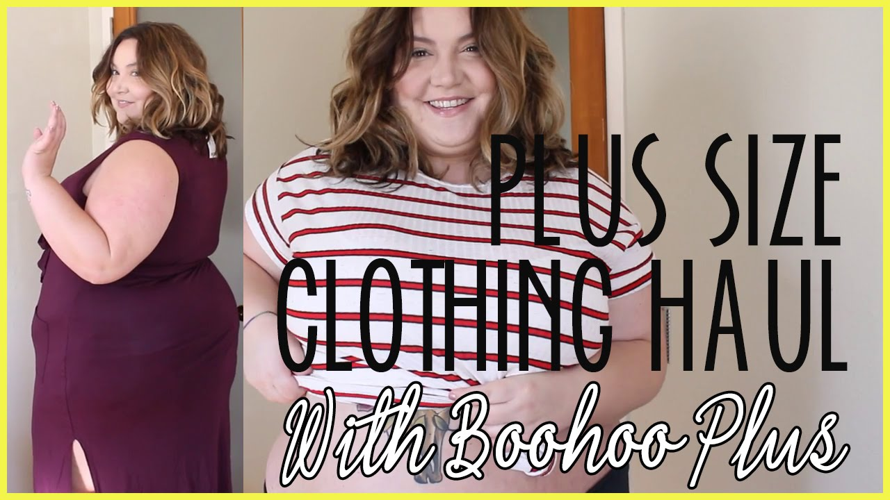 e70c31039a457 Plus Size Clothing Haul and Try-On w  Boohoo Plus - YouTube