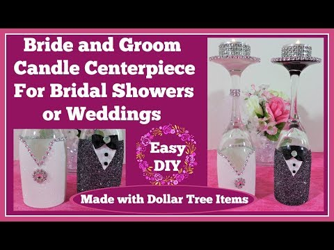 bride👰-and-groom-candle-holders💖-for-weddings-and-💍bridal-showers