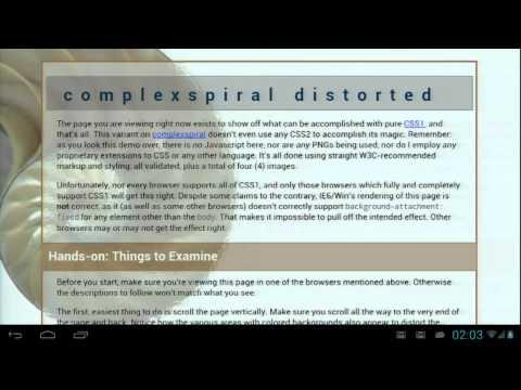 Google I/O 2012 - Android WebView