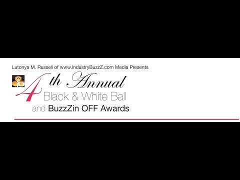 www.IndustryBuzzZ.com Media Presents 4th Annual Black & White Ball/ Awards Part2