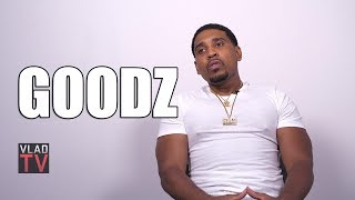 Goodz on Never Going to Prison Even Though He was Arrested Multiple Times (Part 1)