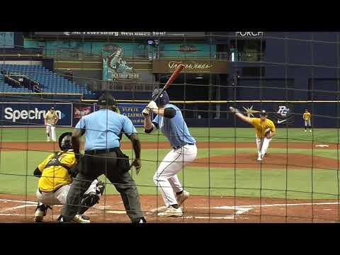 Brett Baty (6-15-2018) at the Perfect Game National Showcase (Tampa, FL).