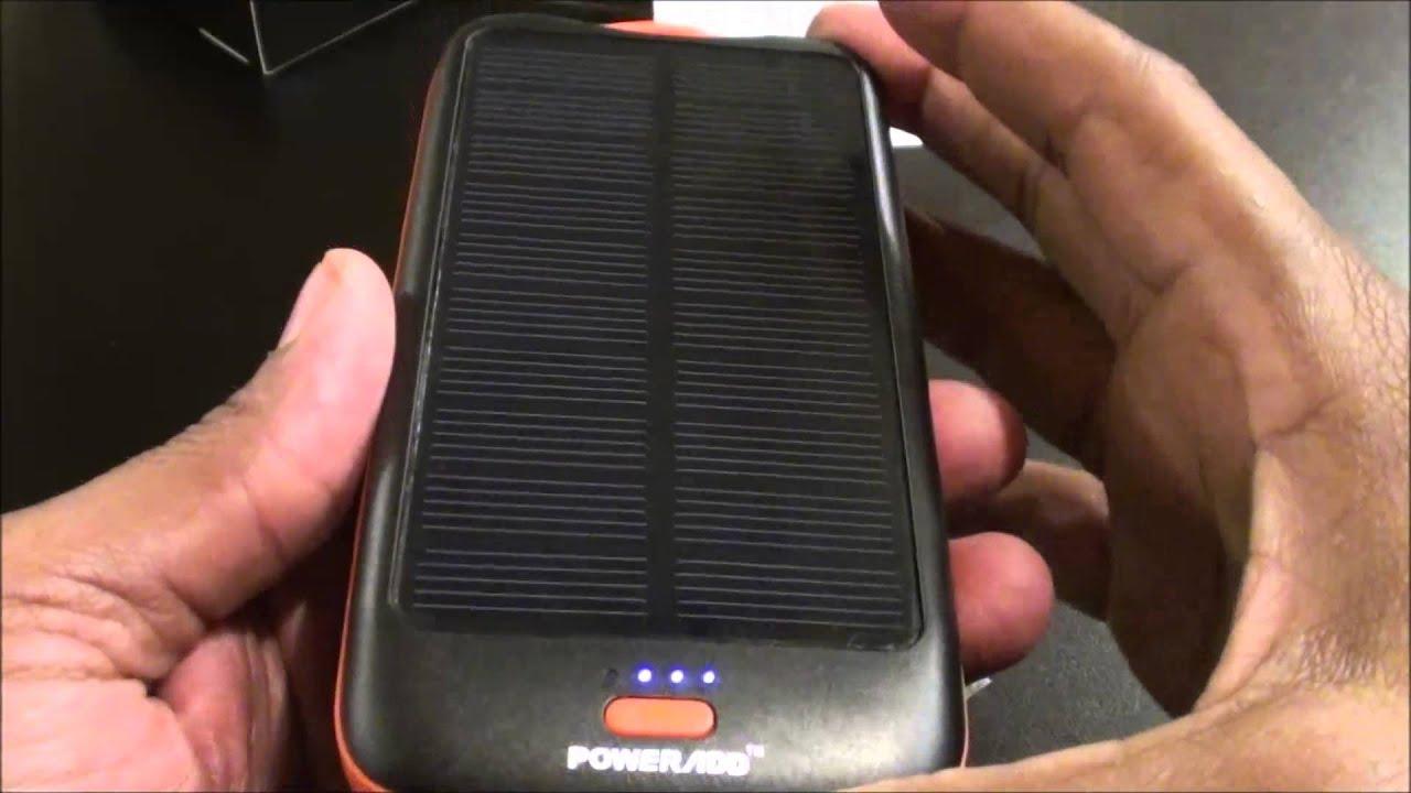 Powerad Apollo2 Solar Panel Charger 10000mah External