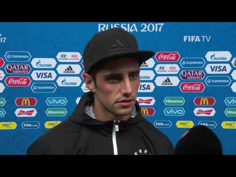 Lars STINDL Post-Match Interview - Match 8: Germany v Chile - FIFA Confederations Cup 2017