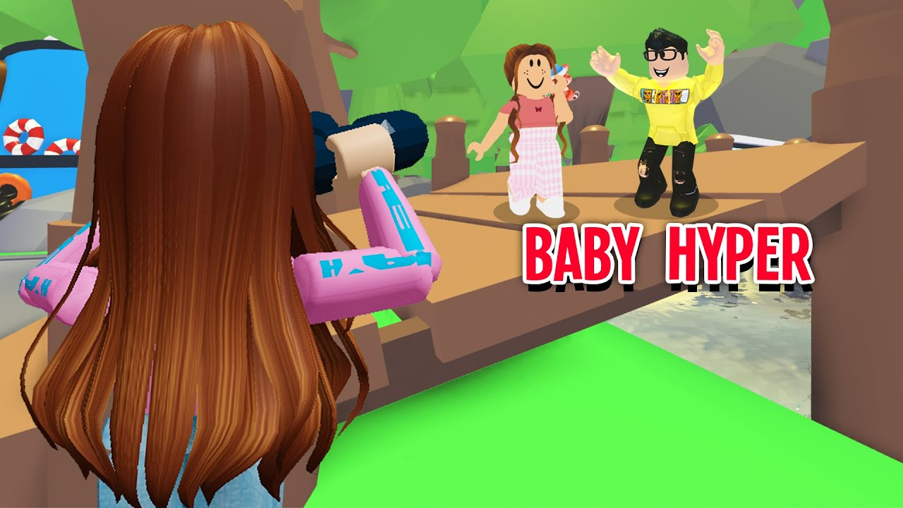 Baby Hyper Went On A DATE So I Spied On Him In Adopt Me! (Roblox)