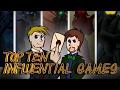Top Ten Influential Games ft. Rabbidluigi