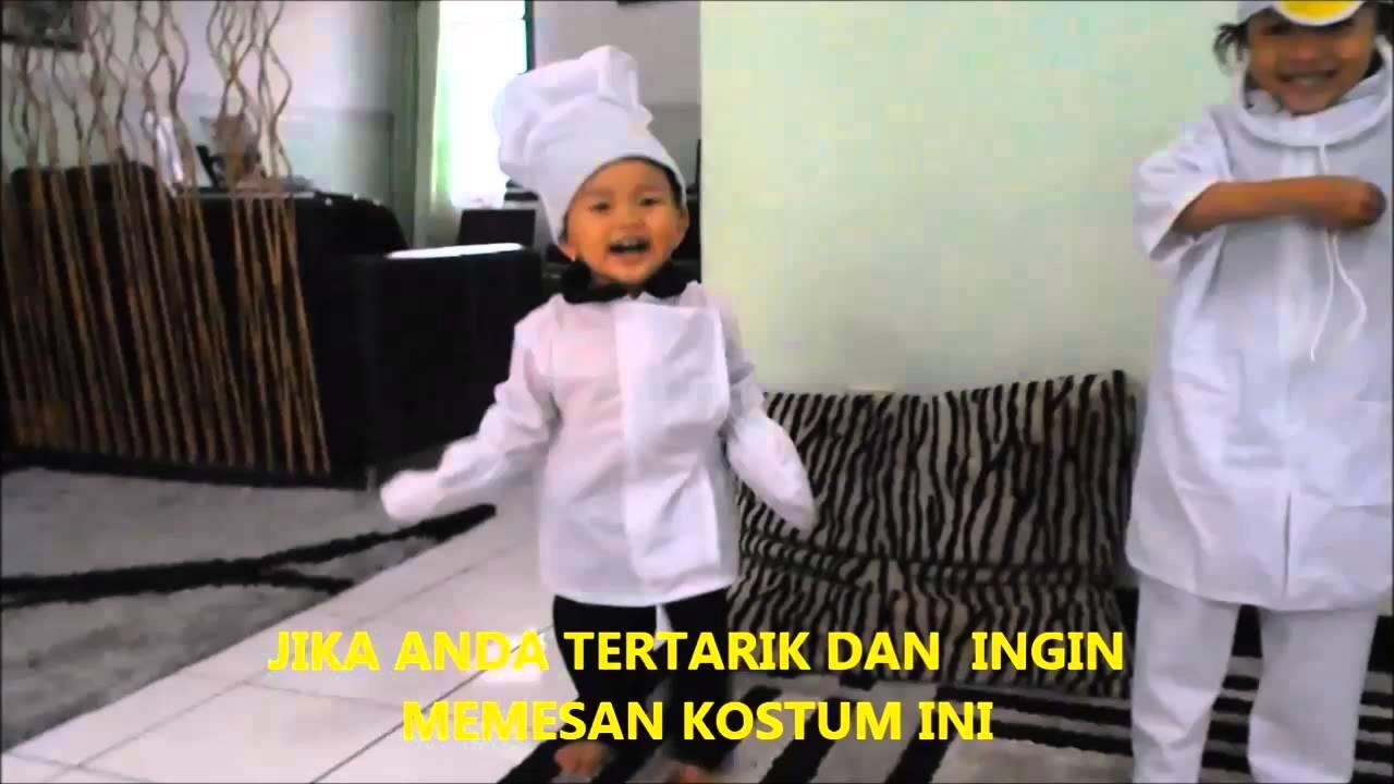 Kostum Anak - Kostum Dokter dan Kostum Koki - YouTube 03a34603be