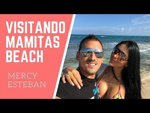 VISITANDO MAMITAS BEACH CLUB PLAYA DEL CARMEN | Mercy y Esteban