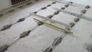 Cách cán nền nhà lát gạch siêu phẳng cho anh em thợ hồ - Cán nền đạt chuẩn nó phải ntn
