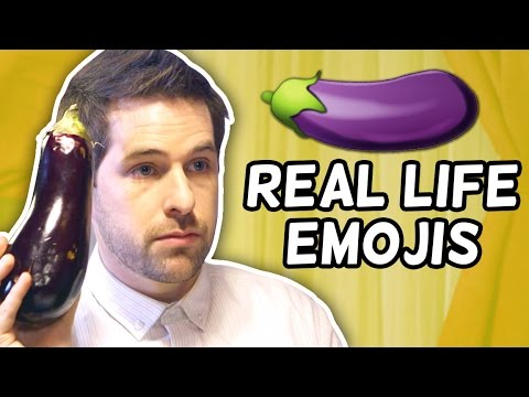 Thumbnail: REAL LIFE EMOJIS! (This Week in Smosh)
