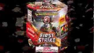 First Strike of 500g cakes - Dominator fireworks - 500g Aerials