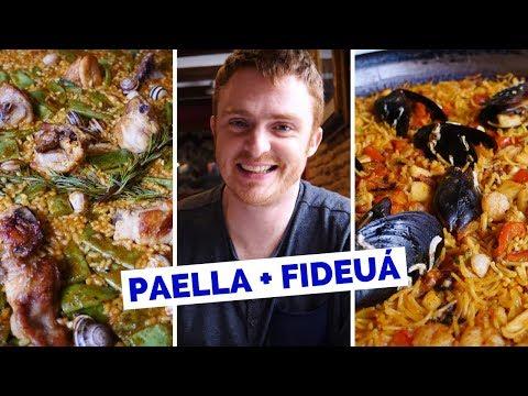 Spanish Food Review - Eating Paella Valenciana in Valencia, Spain