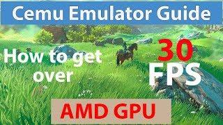 Cemu 1.11.3   Guide for AMD Users   Zelda:BOTW