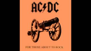 AC/DC - For Those About to Rock (We Salute You) (Lyrics+HQ)