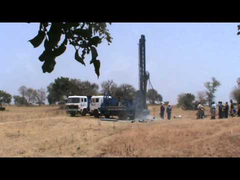 drilling rig in ghana