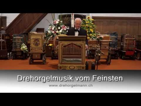 You raise me up ... played on a barrel organ