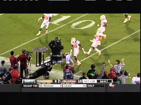 Oklahoma vs Tennessee 2014 - *(with OU radio broadcast audio) *(from 9/13/14)