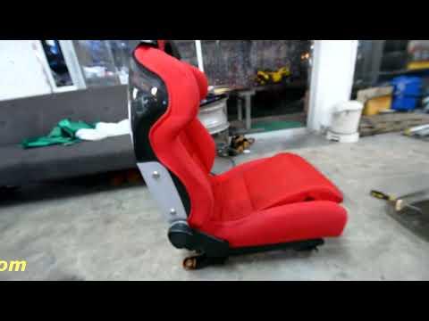 วิธีใส่เบาะแต่ง เบาะซิ่ง รางเดิมเนียนๆ ลื่นๆ เบาะrecaro เบาะ bride By X-Bar Racing shop