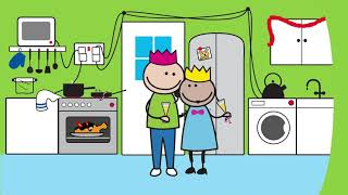 The Byrnes Family Christmas  | Fire Safety video for children | Education | Animation | Learning