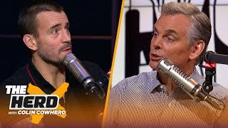CM Punk discusses his new relationship with WWE, Backstage and more | WWE | THE HERD
