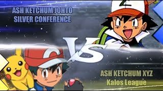 Pokemon Oras Ash Vs Ash (Ash Johto Vs Ash XYZ)