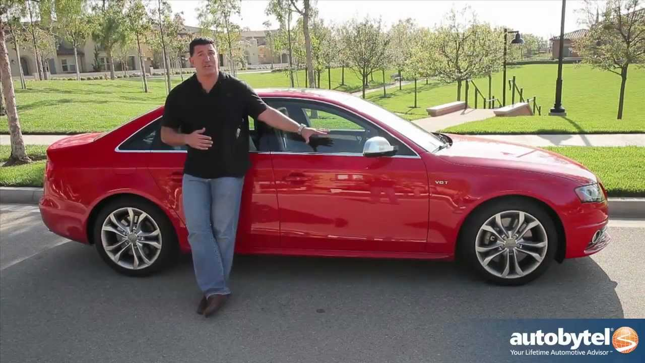 2012 Audi S4 Test Drive  Sports Car Review  YouTube