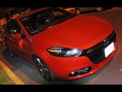 Nuevo Dodge Dart RT 2013 en México - YouTube