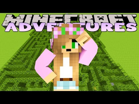 Minecraft - Little Kelly Adventures : SECRET GARDEN MAZE!