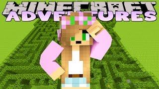 Minecraft - Little Kelly Adventures : SECRET GARDEN MAZE!