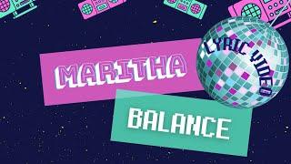 Maritha - Balance (Lyric Video) #balance #newmusic #premiere