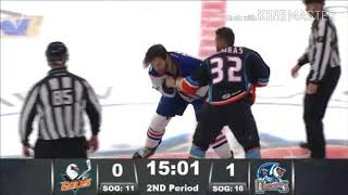 AHL: Fights