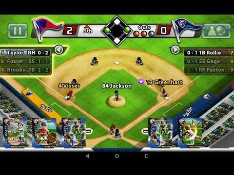 Tablet Big Win baseball game 9