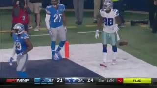 Dez Bryant TD catch vs Lions - INCREDIBLE ONE HANDED - 12/26/2016