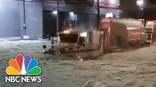 Videos Capture Aftermath Of Hail Storm In Guadalajara, Mexico | NBC News