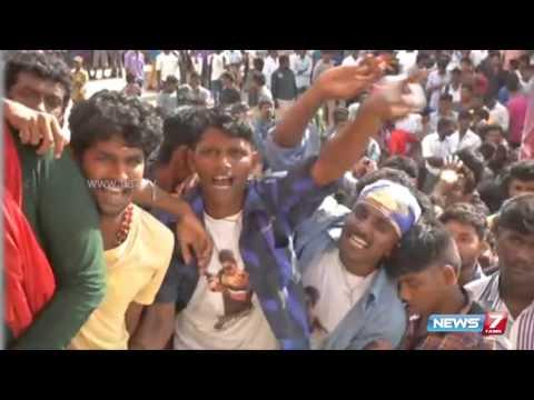 Actor Vijay's fans celebrates