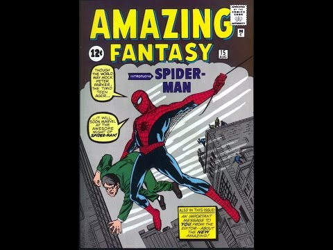 The Comic Vault: Amazing Fantasy #15 Spider-Man Page By Page