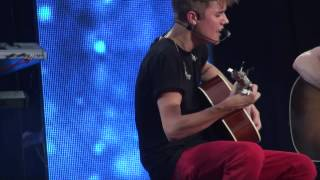 justin bieber wheat kings cover one time mtv world stage in malaysia 2012 hd