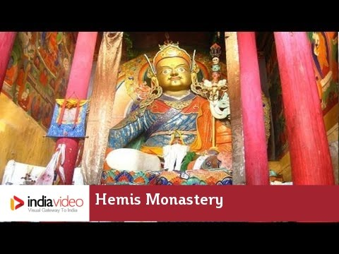 Hemis Monastery in Ladakh, Jammu and Kashmir