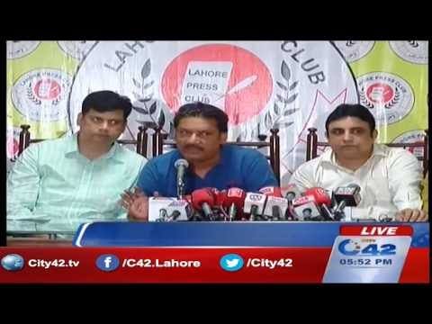 42 Live:  Press Club, President of Pakistan Cable Operators Forum Rommel Saeed Butt press conference