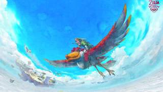 Repeat youtube video Legend of Zelda: Skyward Sword- Ballad of the Goddess Orchestra [Extended]