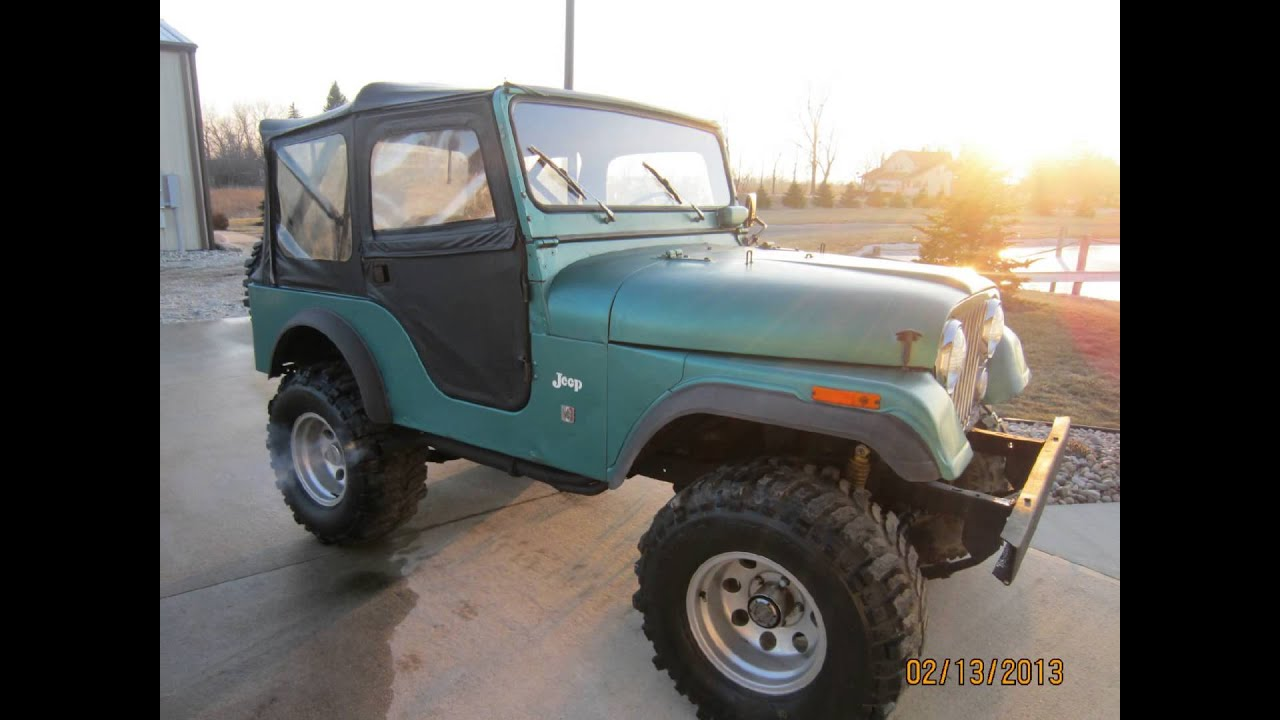 1971 Jeep Cj5 Dauntless V6 225