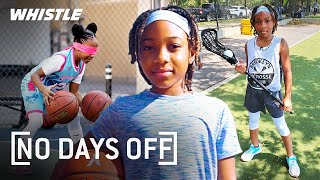 10-Year-Old DOMINATES All Sports | Basketball, Lacrosse, & CrossFit!
