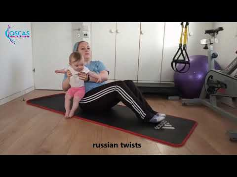 workout with your baby