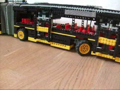 lego technic articulated bus youtube. Black Bedroom Furniture Sets. Home Design Ideas