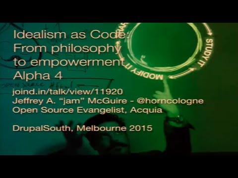 Idealism embodied, Philosophy, Code, Empowerment