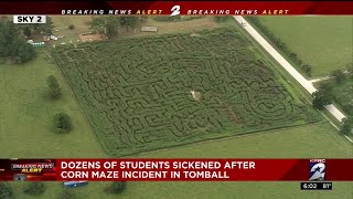 Dozens Of Students Sickened After Corn Maze Incident In Tomball
