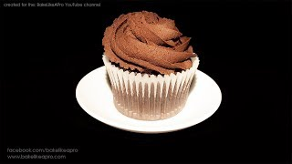 YUMMY EASY One Bowl Chocolate Cupcakes Recipe