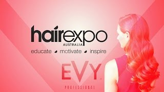 Hair expo 2016 Melbourne - EVY Professional