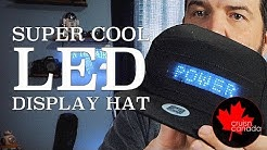 Cool LED Display Hat Review | From GearBest